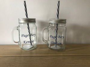Personalised Mason Jars