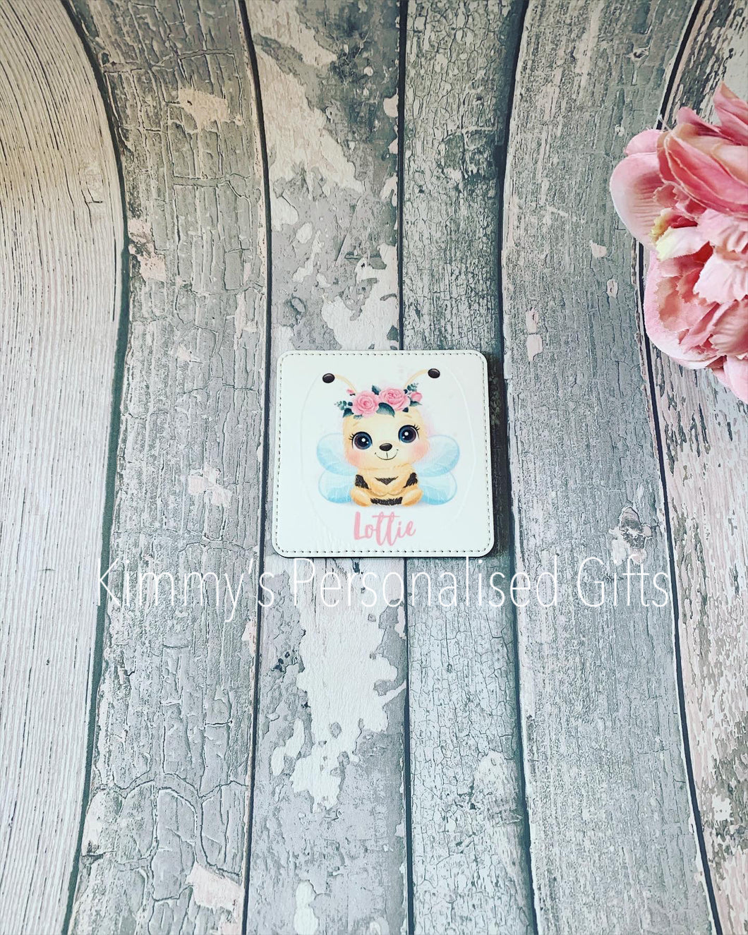 Personalised Faux Leather Coasters