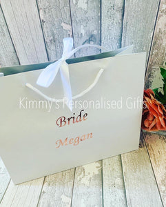 White Recycled Gift Bags