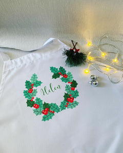 Christmas Aprons for Kids and Adults