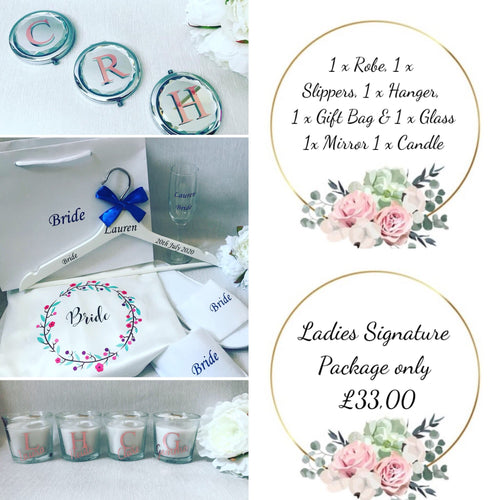 Signature Bride/Bridesmaid Package