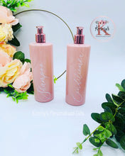 Load image into Gallery viewer, Pink Bottles with Rose Gold Pump