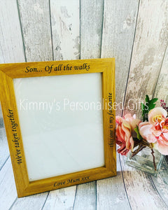 Father of the Bride Frame