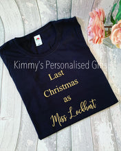 Load image into Gallery viewer, Ladies Christmas T-Shirt