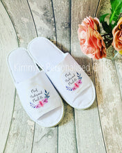 Load image into Gallery viewer, Printed Personalised Slippers
