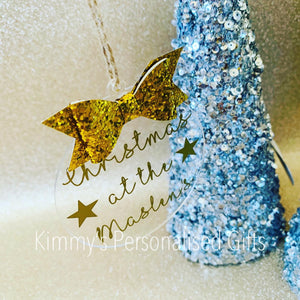Glittered Family Bauble