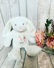 Load image into Gallery viewer, Personalised White Bunny
