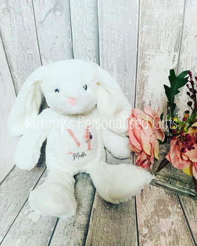 Personalised White Bunny