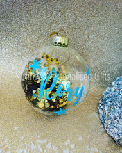 Load image into Gallery viewer, Personalised Sequin Baubles