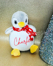 Load image into Gallery viewer, Personalised Plush Penguin