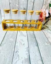 Load image into Gallery viewer, Personalised Spice Rack, Spice Jars, Kitchen Storage,