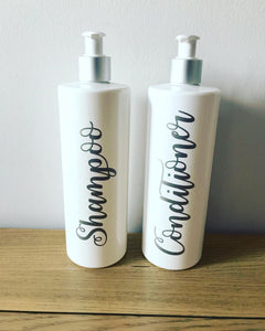 Personalised Pump Bottle