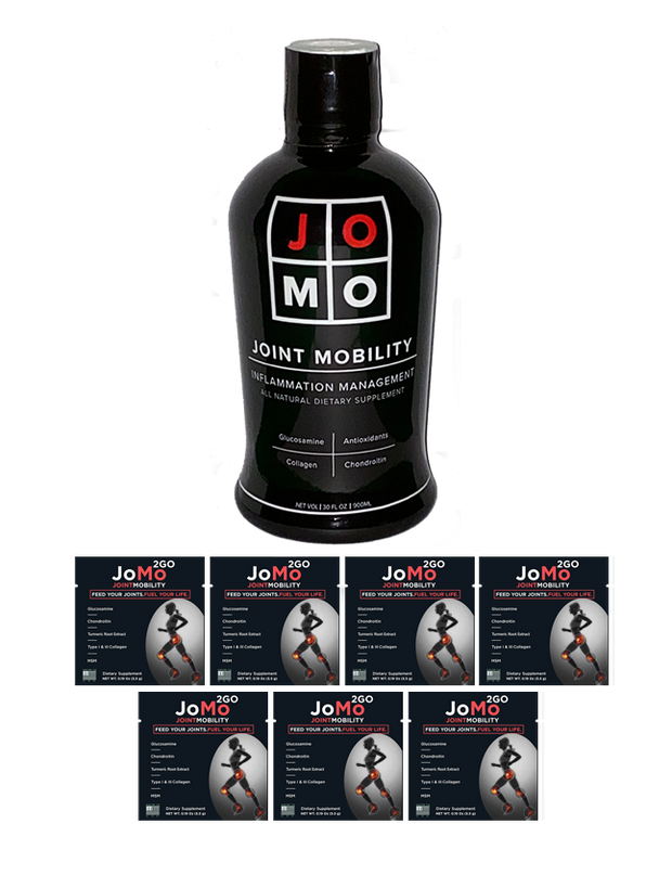 JoMo Single + 7 JoMo 2Go Bundle