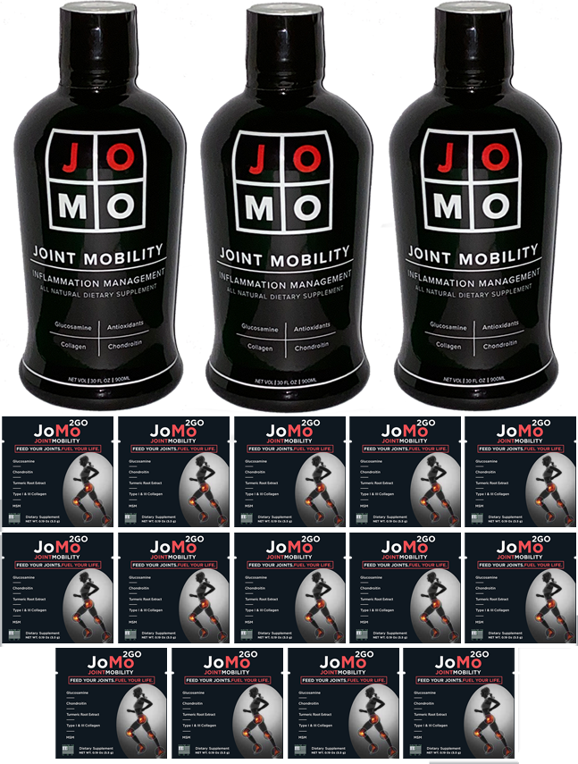 JoMo MoJo Restore 3 Month Wellness Program + 14 JoMo 2Go Bundle