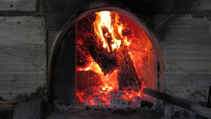 Roasted in wood fired stone oven