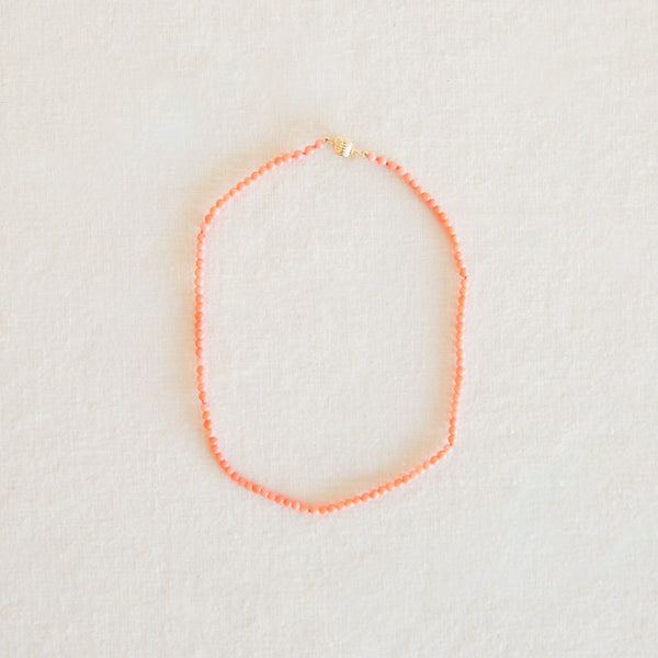 Baby Coral Necklace