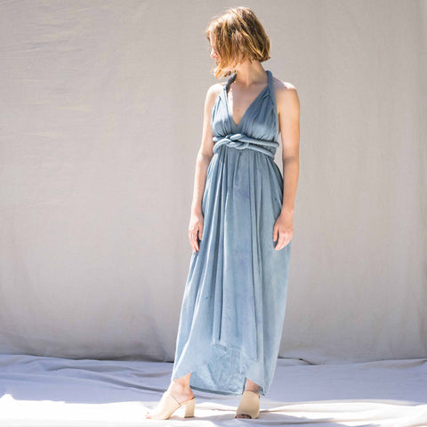 Infinite Rope Dress - Blue