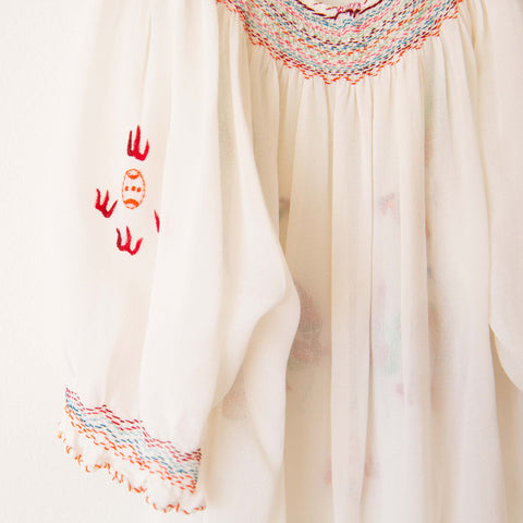Girl's Embroidered Blouse