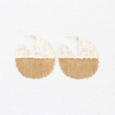 Pie Earrings