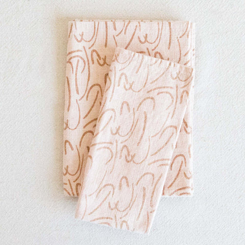 Kitchen Linens - Golden/Blush