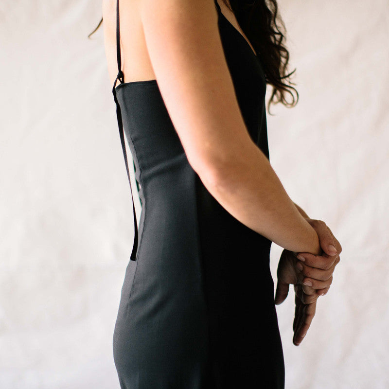 The Slip Dress - Black