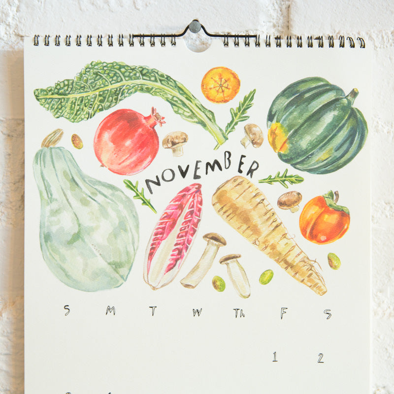 Seasonal Produce Calendar - 2019