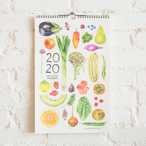 Seasonal Produce Calendar - 2020