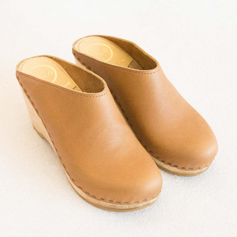 New School Clog - Palomino