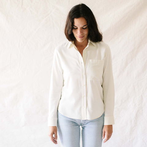 Silk Agnes Button Up