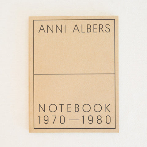 Anni Albers Notebook