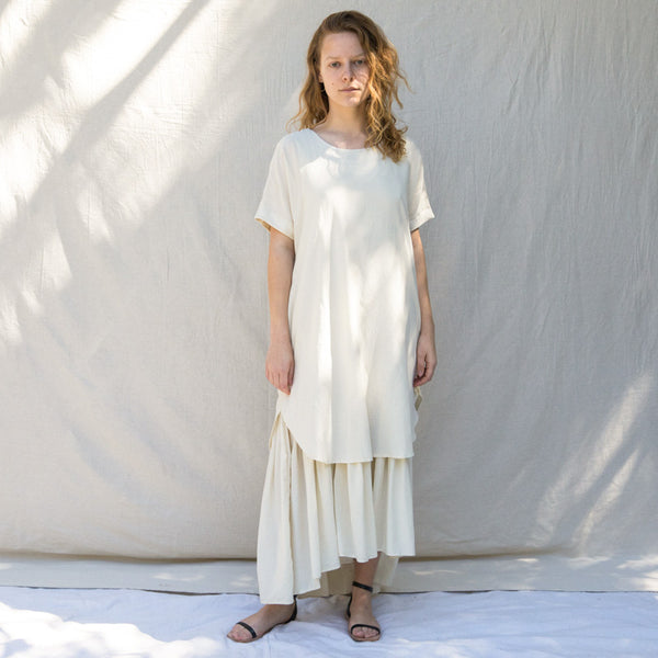Double Dress - Cream