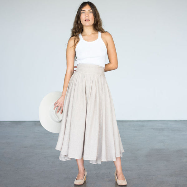 Wrap Skirt - Oatmeal