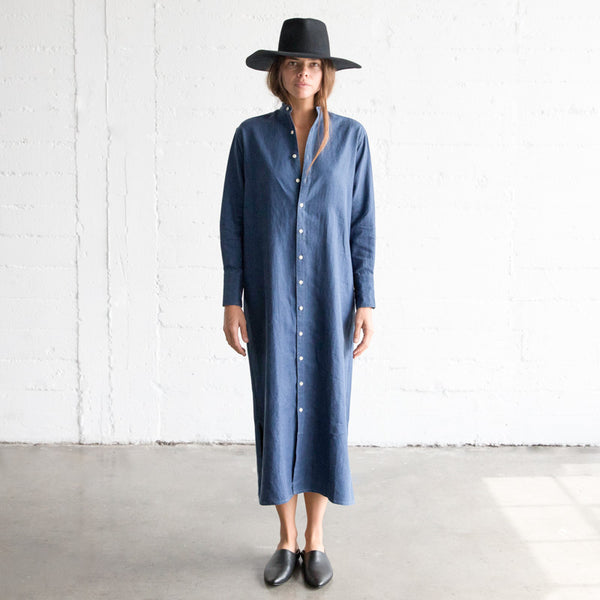Tunic dress - Indigo