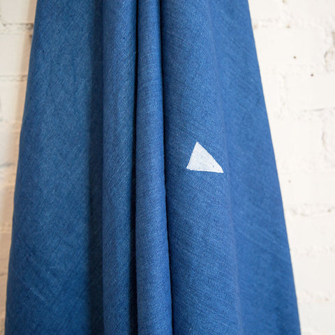Linen Triangle Throw