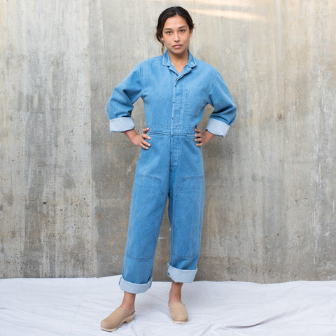 Fincher Jumpsuit - Denim