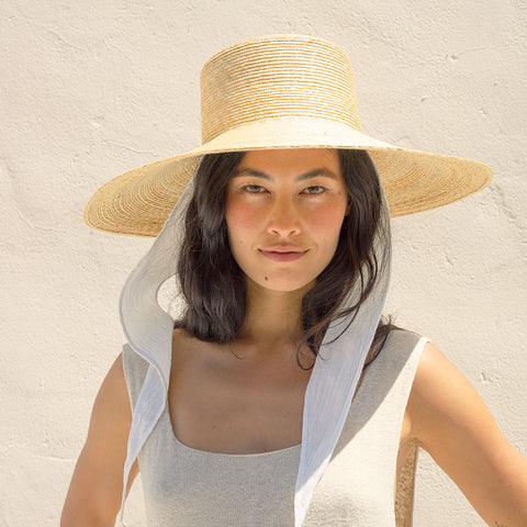 Wide Brim Hat - Natural