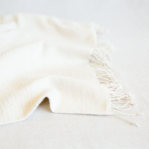 Cotton blanket - Natural