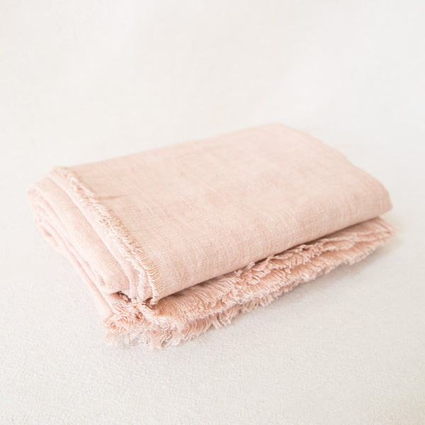 Linen Tablecloth - Blush