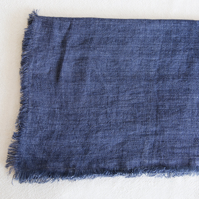 Linen Tablecloth - Navy