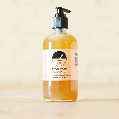 Palmarosa & Aloe Face Wash