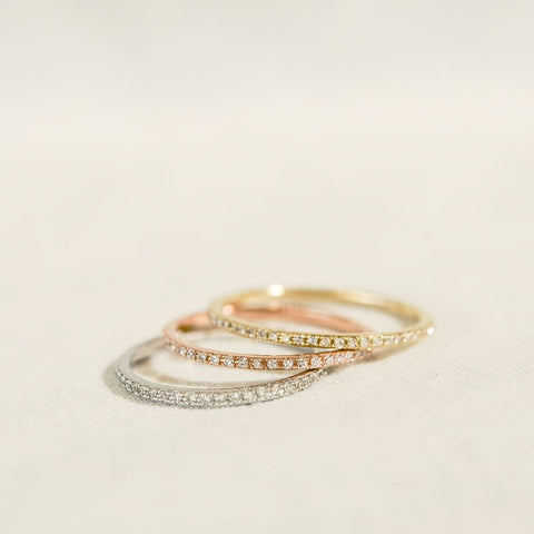 Diamond Axis Ring