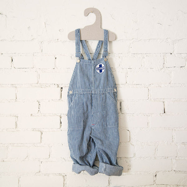 Hickory Striped Kids Overalls