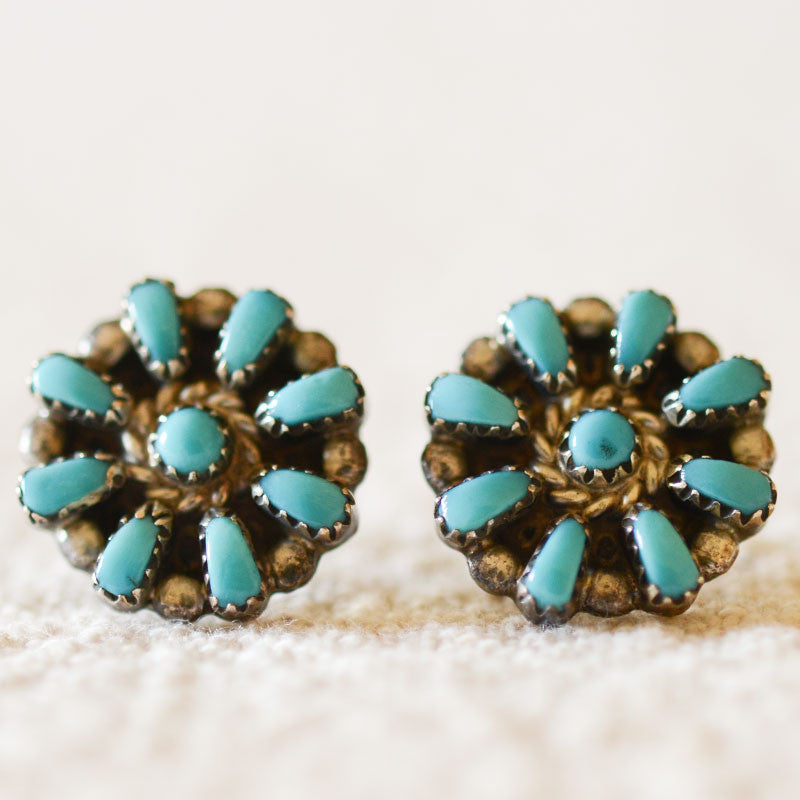 Zuni Stud Earrings