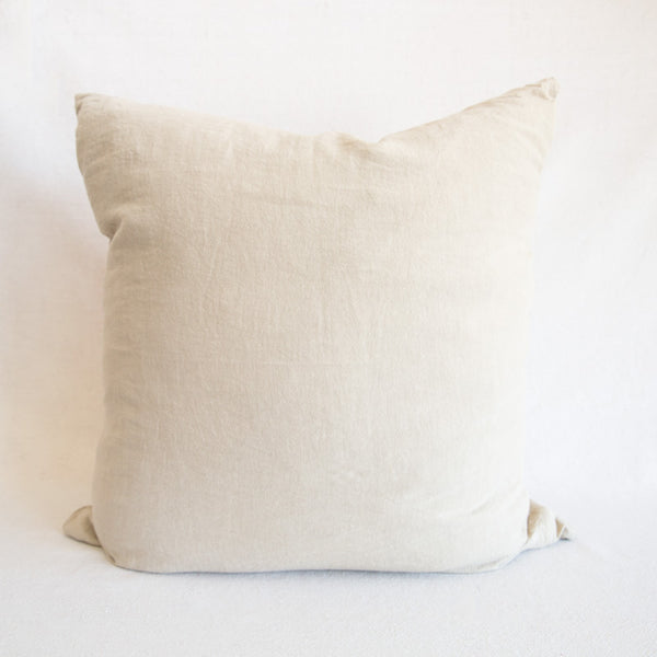 Simple Linen Pillow - Flax
