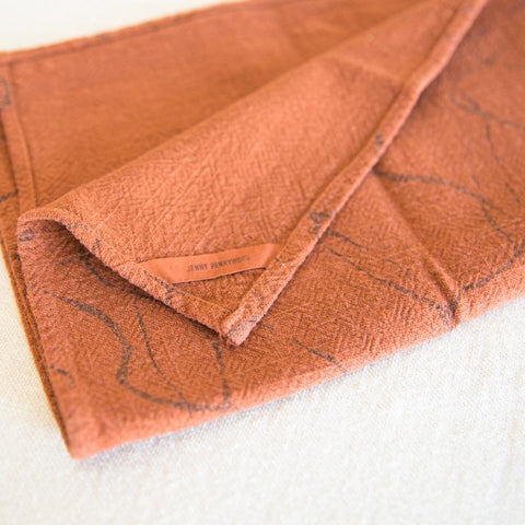 Kitchen Linens - Burnt Sienna