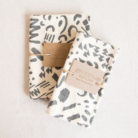 Kitchen Linens - Charcoal