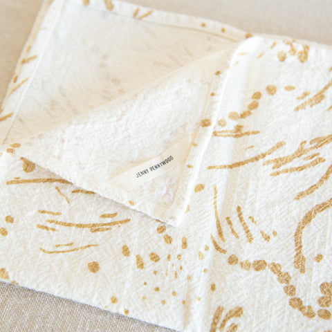Kitchen Linens - Drape Gold
