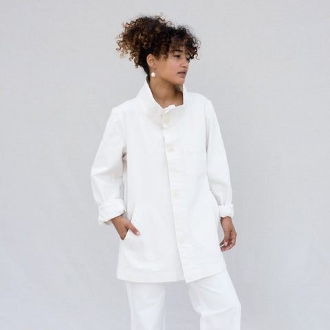 Deck Jacket - Salt White