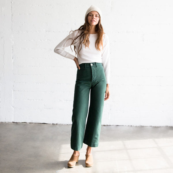 Sailor Pant - Forest Service Green