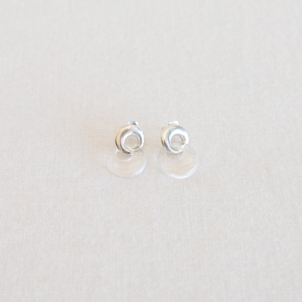 Duet Earrings - Quartz